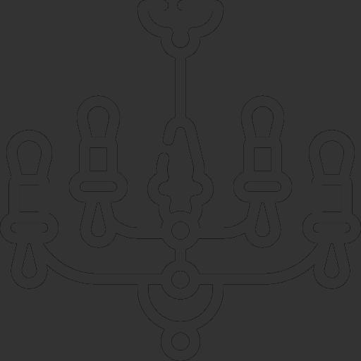 AGUIE MEDRANO STORE Chandelier Icon